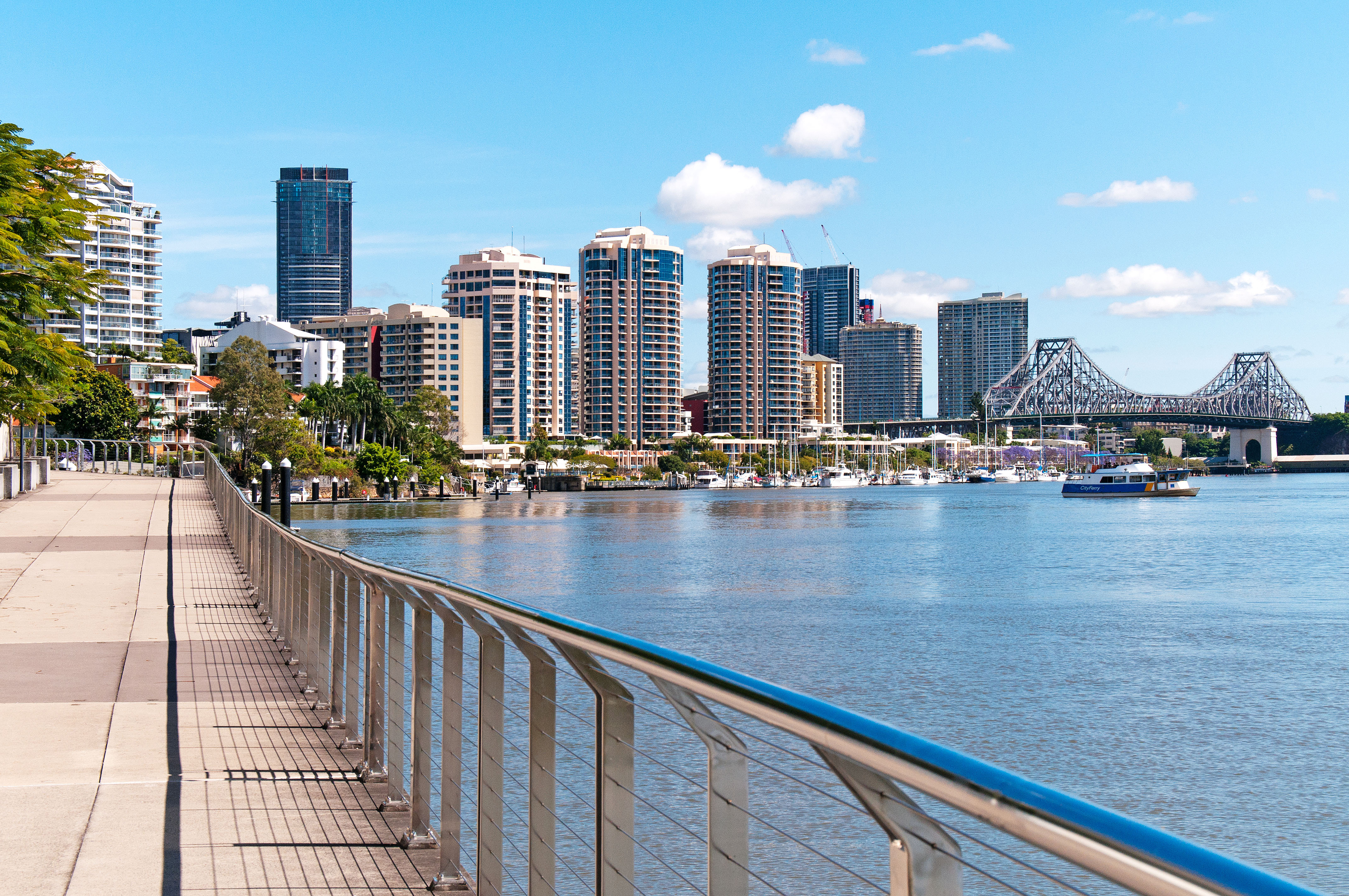 living here kangaroo point peace of mind in property